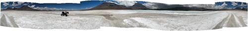 Boliivia (3) - ulmemaastikud Lago Verde juures