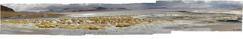 Boliivia (5) - Laguna Blanca ja kuumas väävlises vees mõnulevad turistid