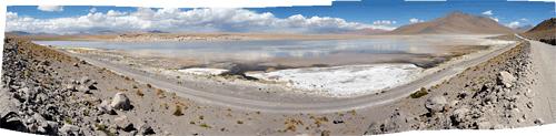 Boliivia (6) - Laguna Blanca peegeldus
