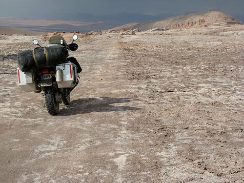 Valle De La Luna üks teedest