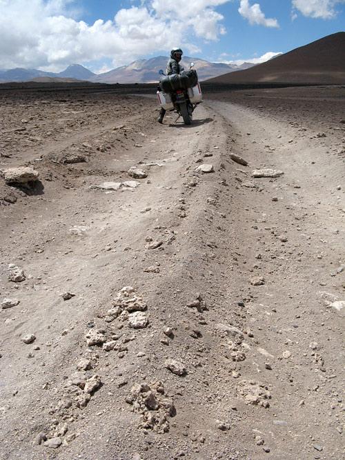 Boliivia teede tüüpnäide