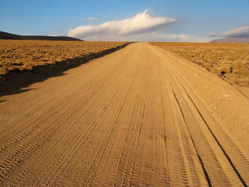 Üks parimatest Boliivia teelõikudest