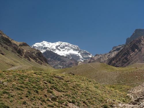Aconcagua hiilgab - Ameerikate kõrgeim tipp - 6962 meetrit