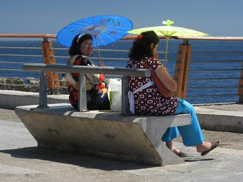 Päikese- ja ookenirõõmud Valparaisos