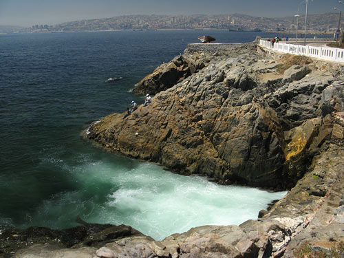 Vaikne ookean Valparaisos