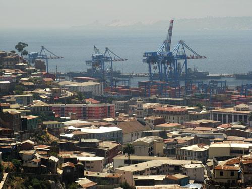 Valparaiso - ehtne sadamalinn