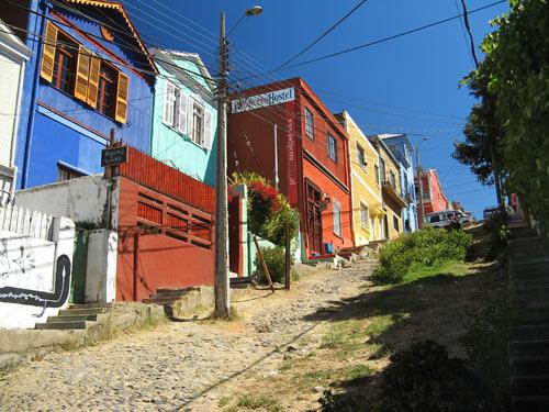 Majad mäenõlvadel