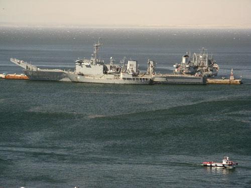 Sõjatehnika sadamas
