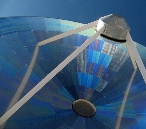 Vägevad raadioteleskoobi peegeldused