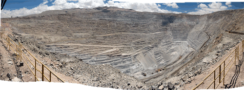 Vasekaevanduse panoraam