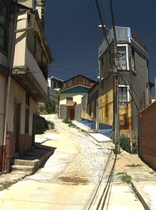 Valparaíso vaesema linnaosa tänav