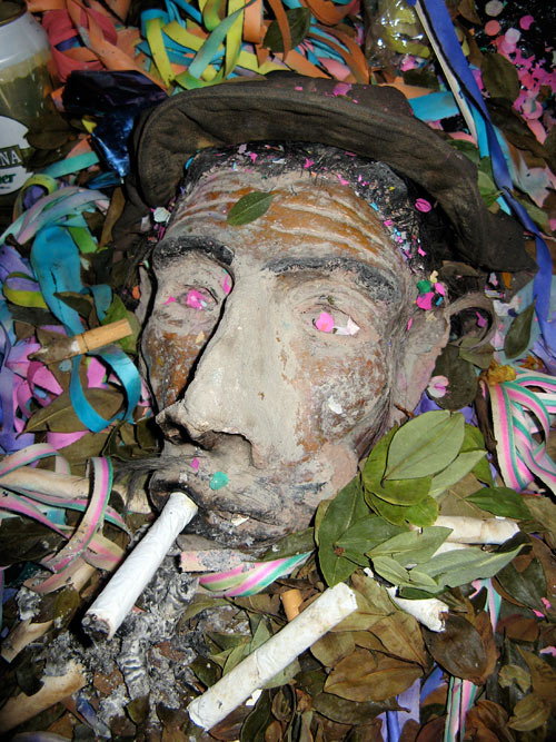 Vana kurat - umbes 60-70 aasta tagune, oli aeg mil teda kaevanduses kummardati