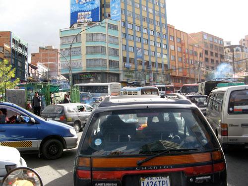 La Pazi liiklus