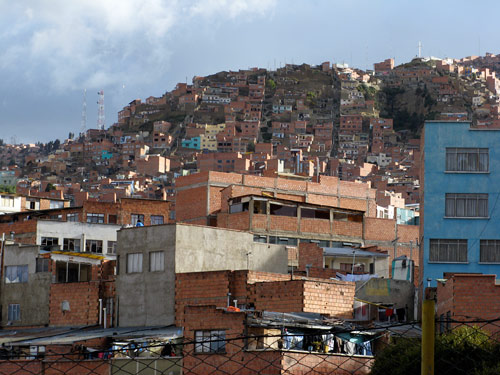 La Paz mäenõlvadel