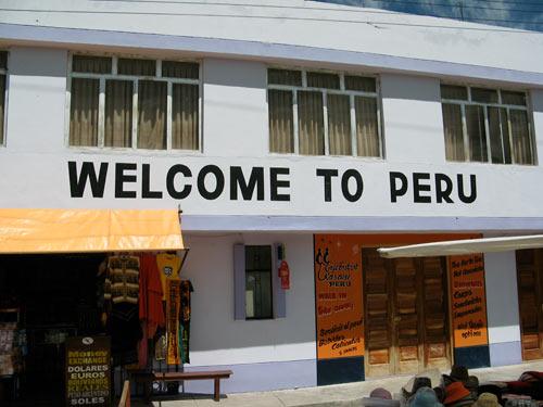 Tere tulemast Peruusse