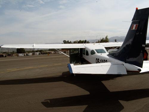Boksermootoriga lennuk, mis meid Nazca joonte kohale viis