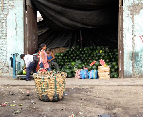 Lima - arbuusimüüja