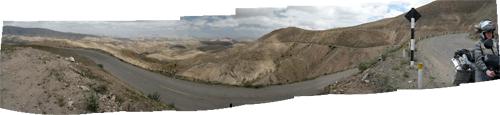 Peruu (10) - kuiv kõrbesarnane maastik enne Nazcat