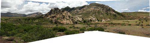 Maastikud Potosi lähistelt