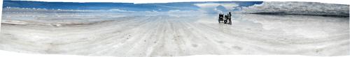 Salar de Uyuni soolajärv - lihtsalt ulme!