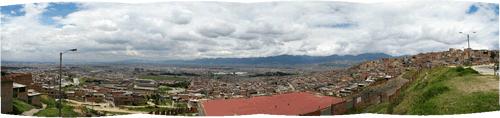 Bogotá panoraam