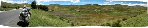 Ecuadori maastikud (2) - põllulappide muster
