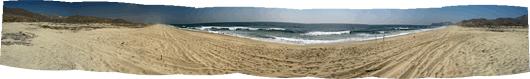 Baja maastikud (10) - Vaikse ookeani rand