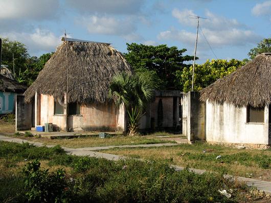 Yucatáni põliselanike kodud