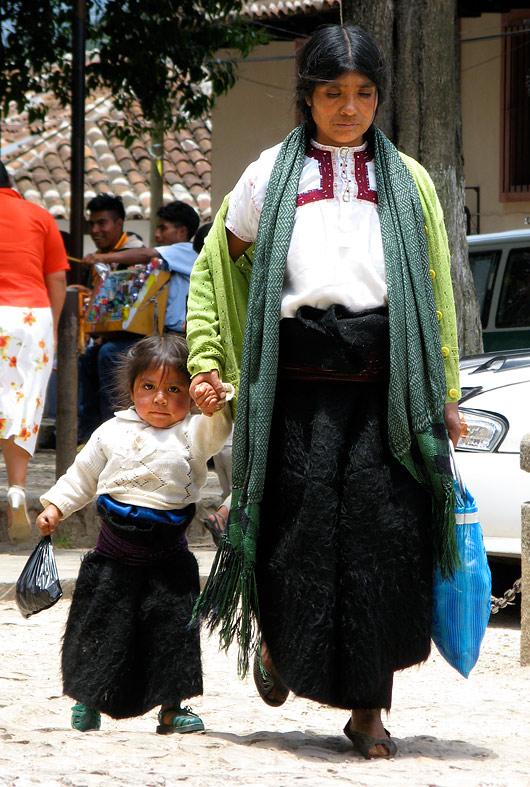 Naine lapsega