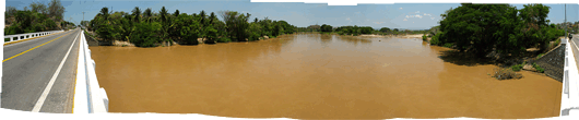 Teine shokolaadi värvi jõgi