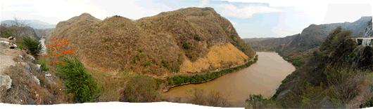 Kesk-Mehhiko kuivanud maastikud
