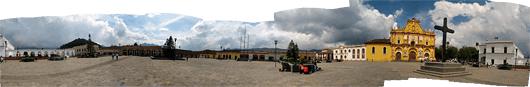 San Cristóbali keskväljaku panoraam