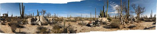 Baja loodus (9) - telkimiskoht