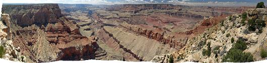 Grand Canyon (9) - üüratu kolakas emakese Maa sees. Nendelt piltidelt tegelt ei saa aru kui hoomamatult suur ta on.