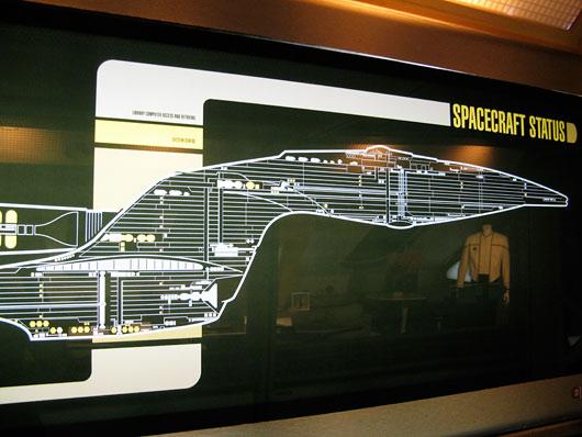 Enterprise'i kosmoselaeva skeem