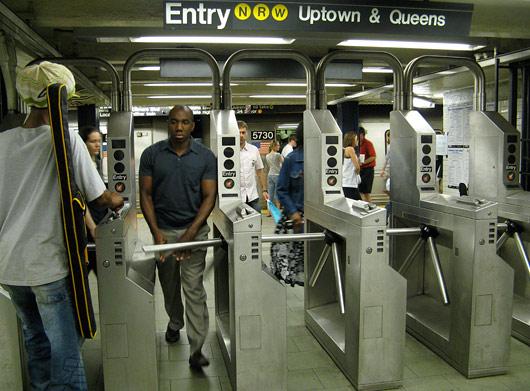 NY Manhattani metroo