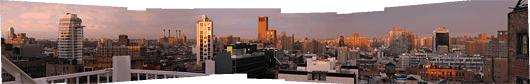 New York (3) - päikeseloojangus