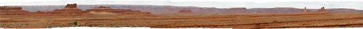 Utah - ja lõpetuseks üks pikk panoraam - Valley of the Gods - ehk Jumalate org