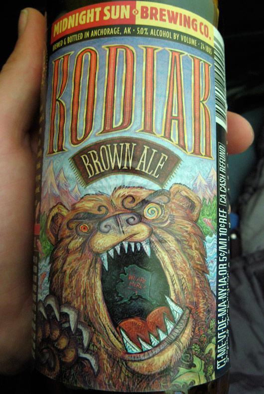 Mõmmi õlu - Alaska Kodiaki saarest inspireeritud