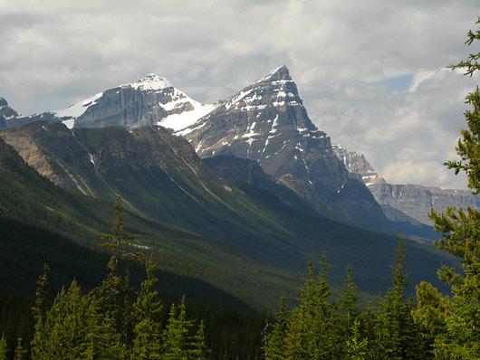 Teravad tipud Banffi rahvuspargis (klikka, et suurendada)