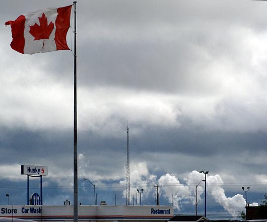 Kanada ja halb ilm...