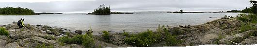 Lake Superior'i äärne maastik