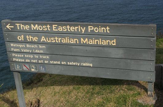 Austraalia mandri kõige idapoolseim punkt