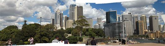 Sydney kesklinna panoraam