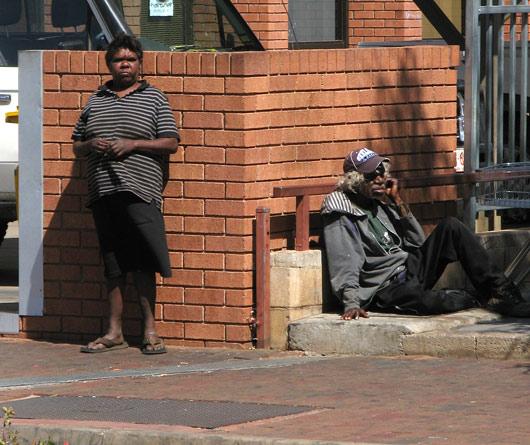 Aborigeenid tänaval