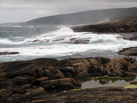 Cape Leeuwini tormine meri