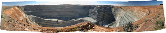 Super Pit-i panoraam