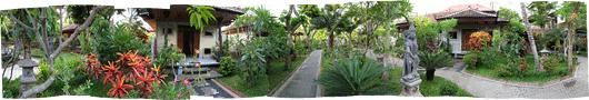 """Hosteli aed (2) - meie """"onnikene"""" paremal"""