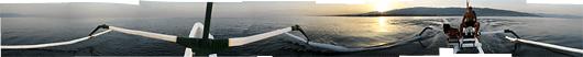 Paadimehega merele