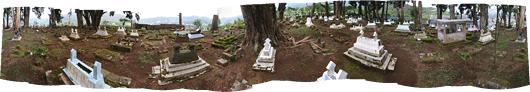 Üks Diengi kalmistutest